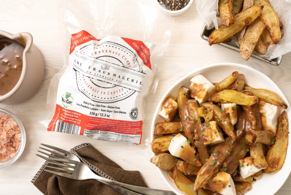 Dairy-free cheese curds