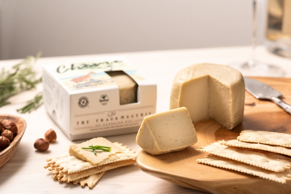 Dairy-free goat cheese