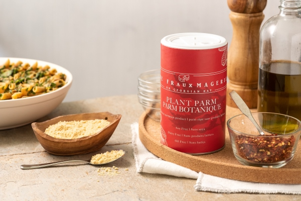 Dairy-free grated parmesan cheese